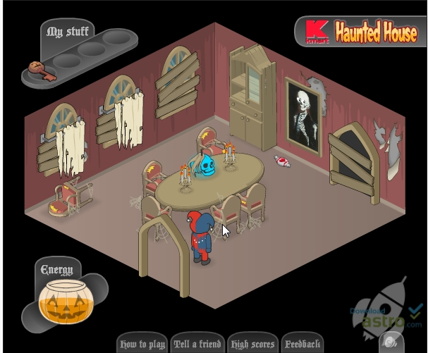 Haunted  House เกมบ้านผีสิง