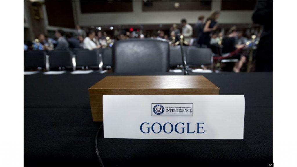 สหรัฐเรียก ผู้บริหาร Google Facebook และ Twitter เข้าชี้แจง