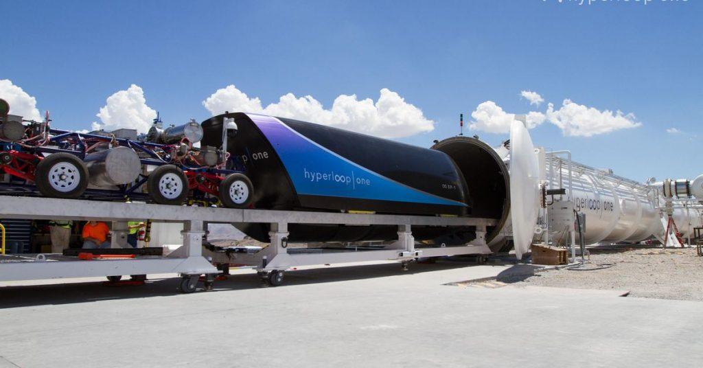 Hyperloop One เทคโนโลยี