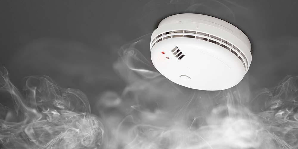 The smoke alarm