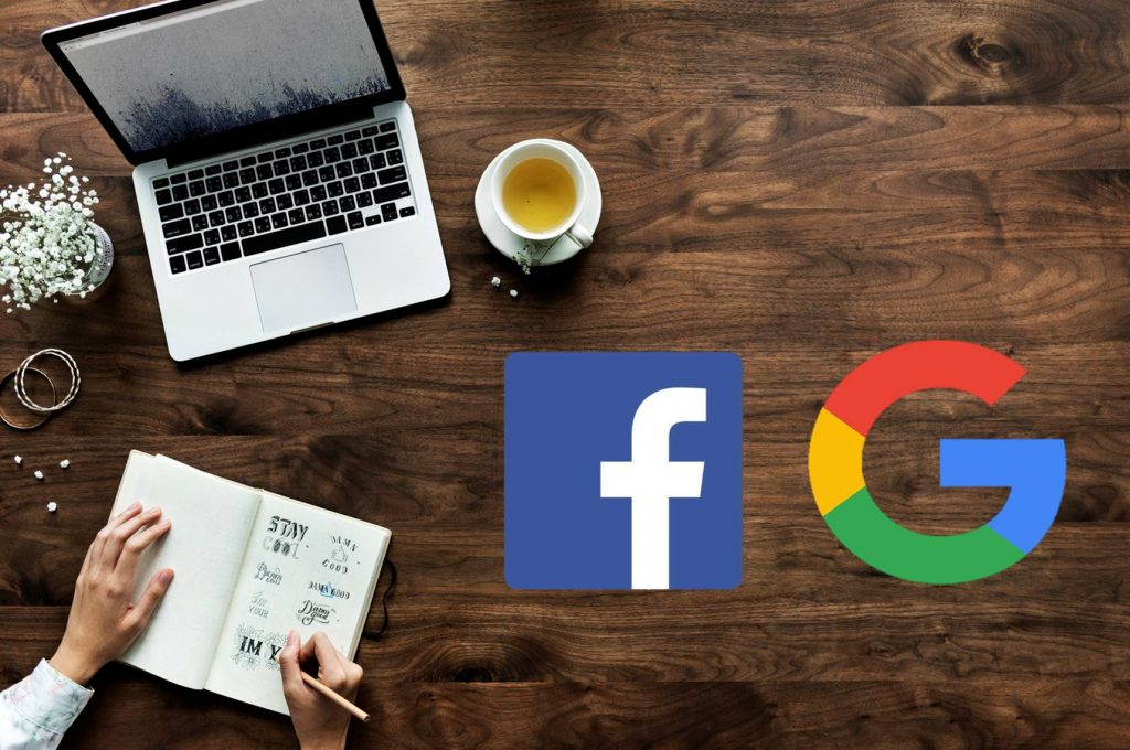 Google และ Facebook