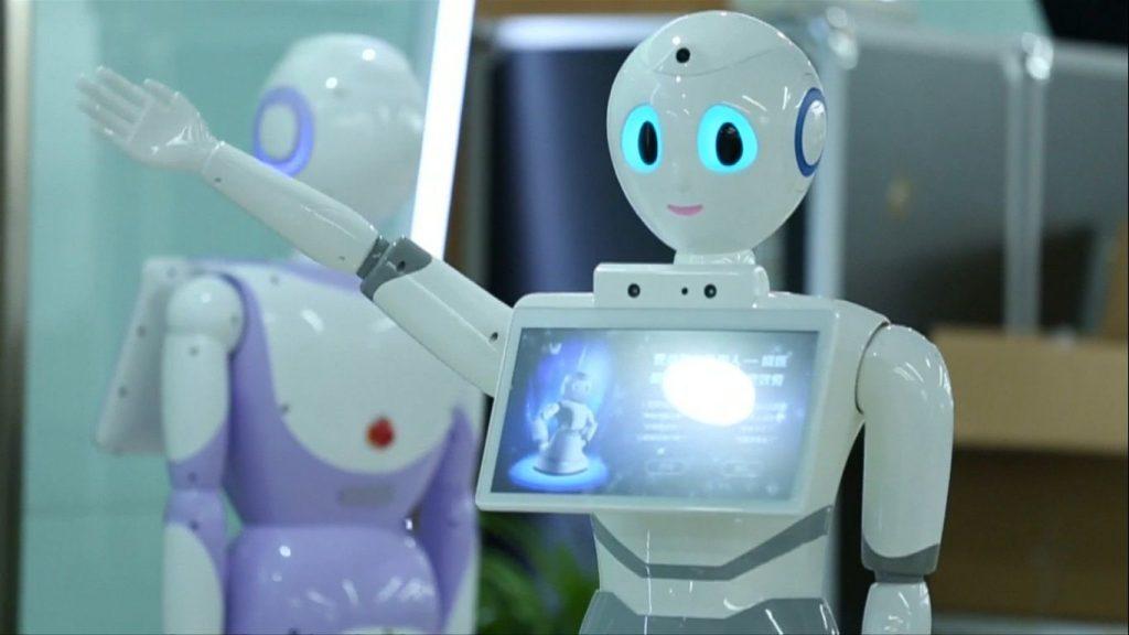 พัฒนาหุ่นยนต์บริการทางการแพทย์