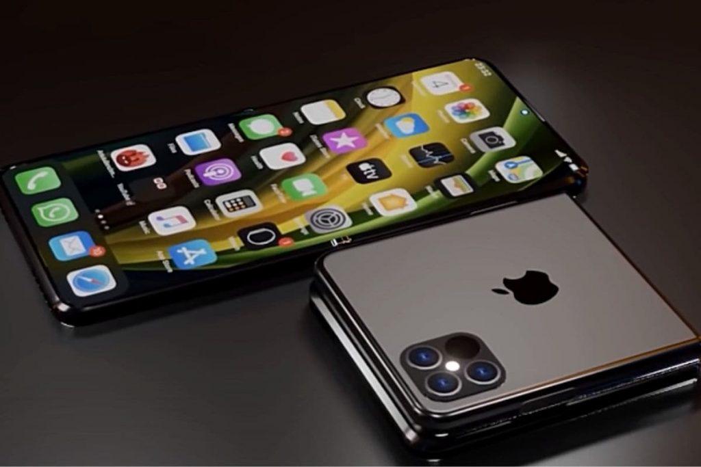 แอปเปิ้ลที่กำลังต้องเลือก ไอโฟนพับได้