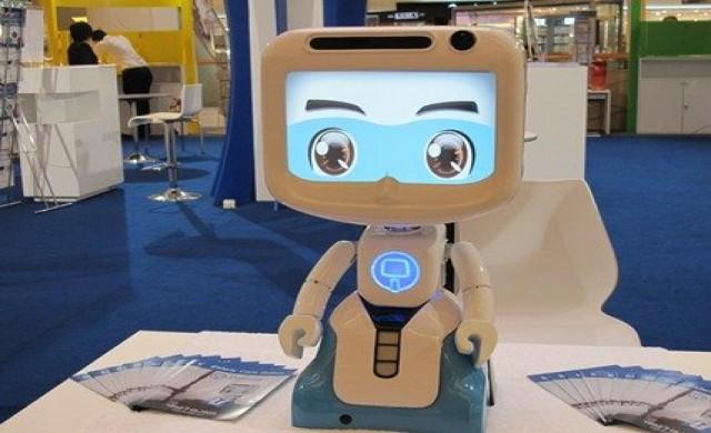 เทคโนโลยีหุ่นยนต์ เพื่อผู้สูงอายุ-DINSOW MINI