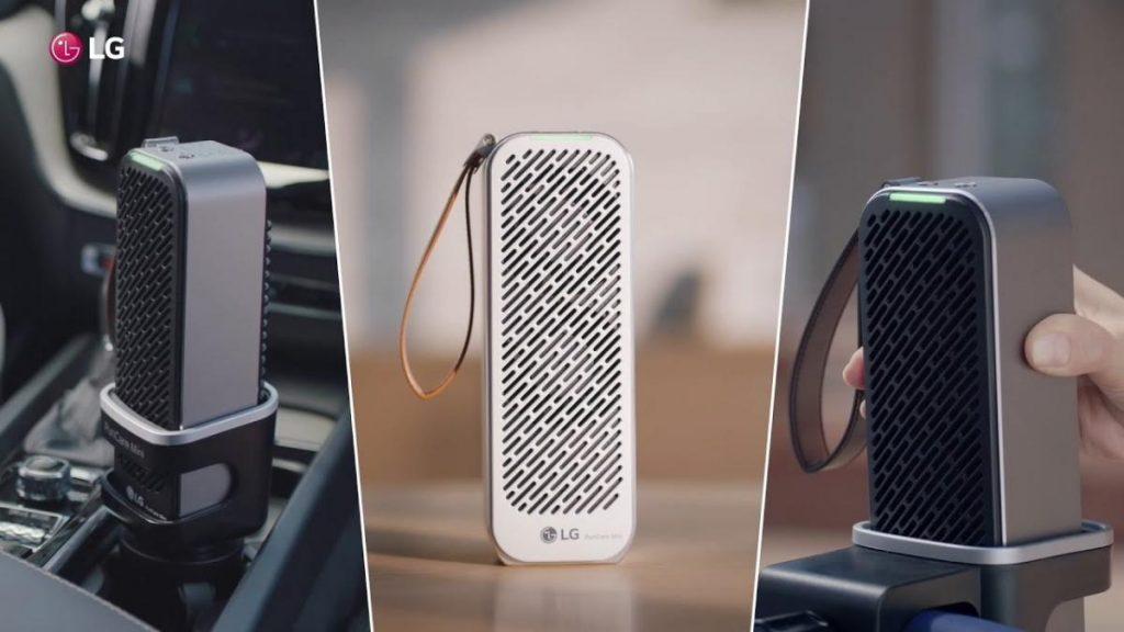 LG รุ่น PuriCare™ Mini Air Purifier  เทคโนโลยีเครื่องฟอกอากาศในรถยนต์