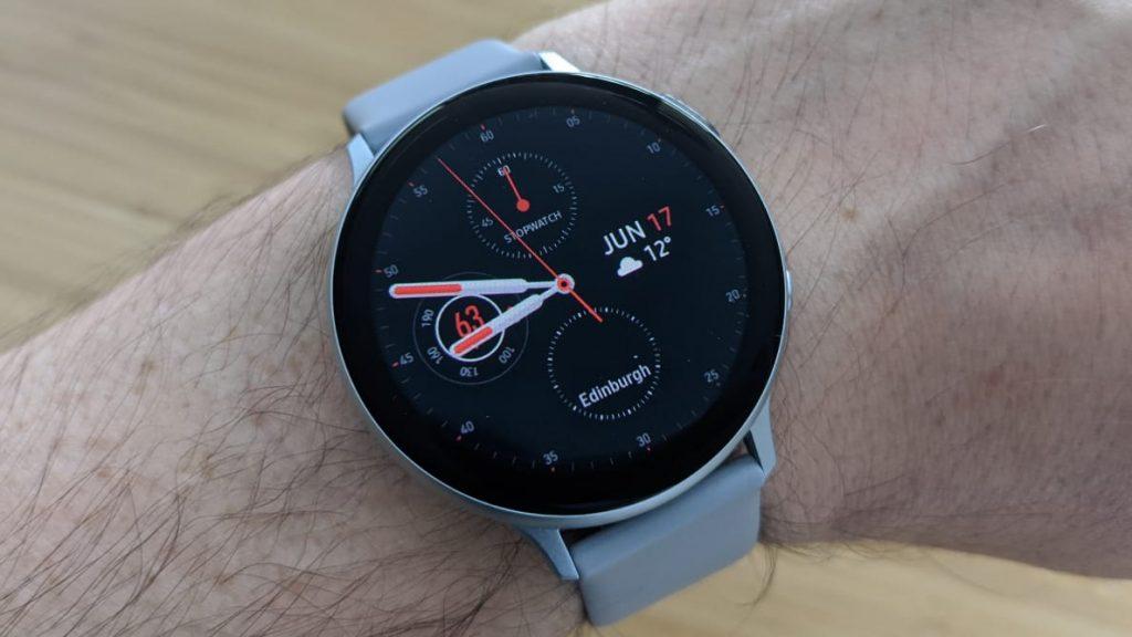 Galaxy Watch Active 2 ที่ได้รับการอัพเดทฟีเจอร์