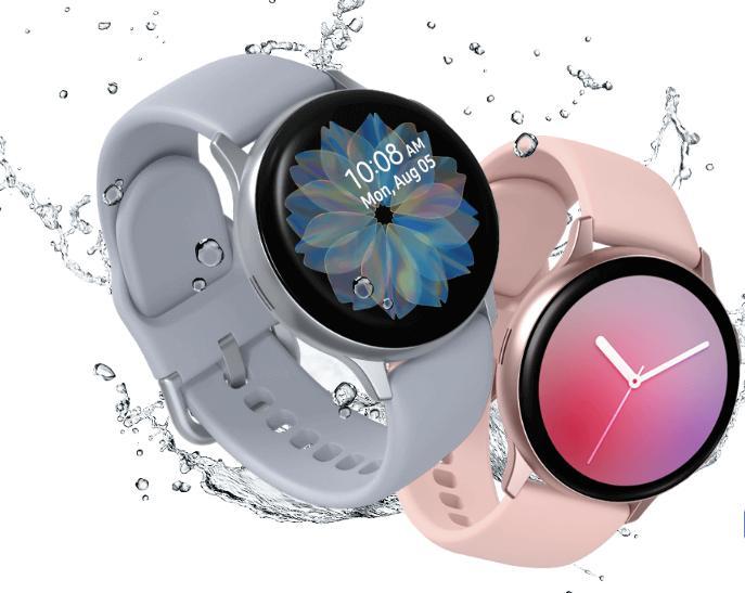 Galaxy Watch Active 2  สามารถติดตามการออกกำลังกายต่างๆ