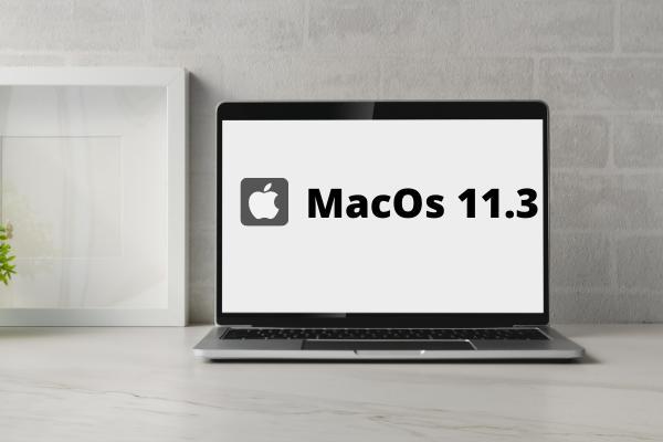 การอัปเดต MacOs 11.3 ในเครื่อง Mac