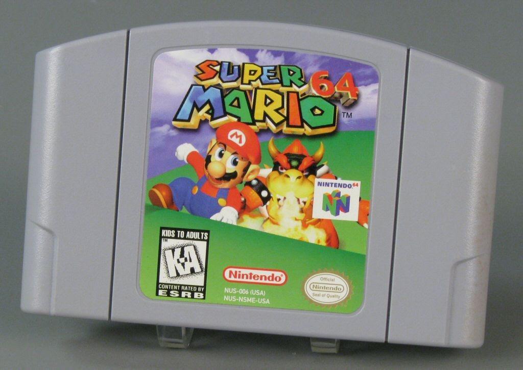 Super Mario 64-ตลับ