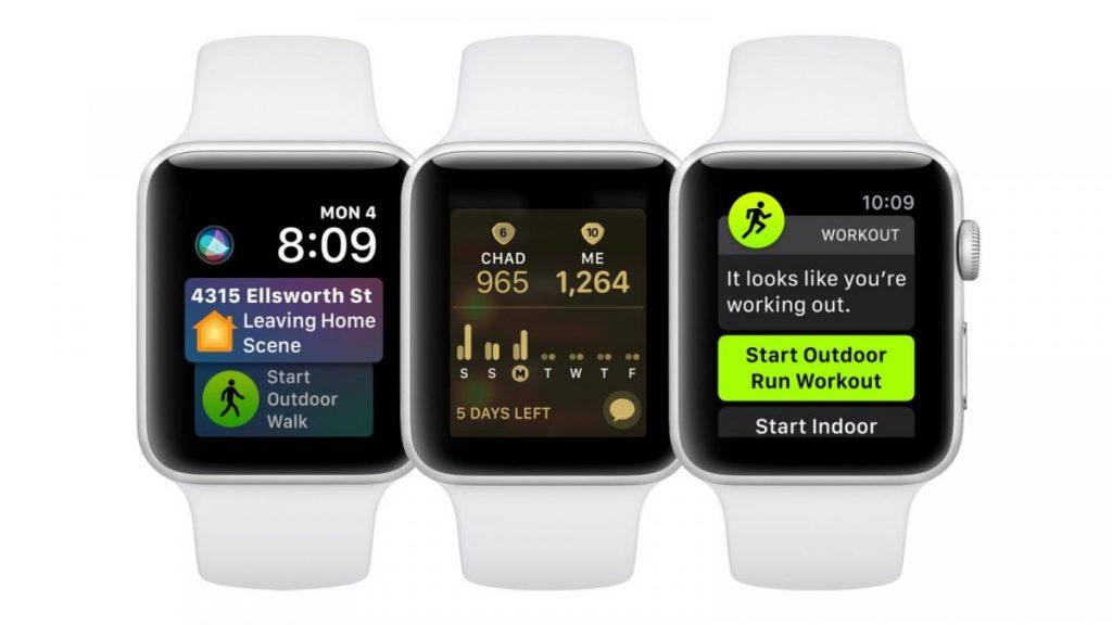 Apple Watch-ฟังค์ชั่น