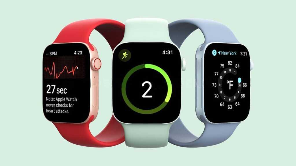 Apple Watch 6-สามสี