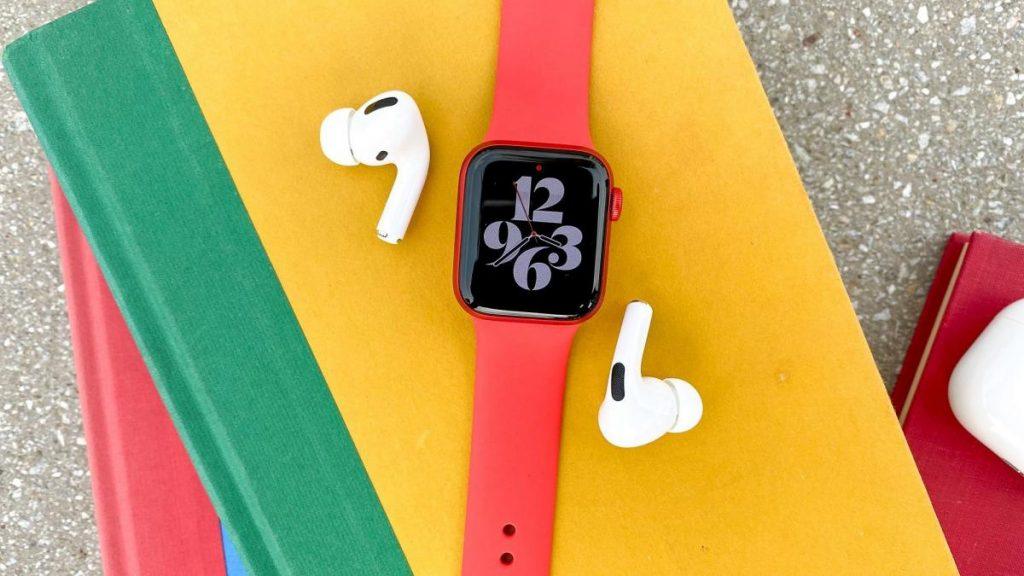 Apple Watch 6-หูฟัง