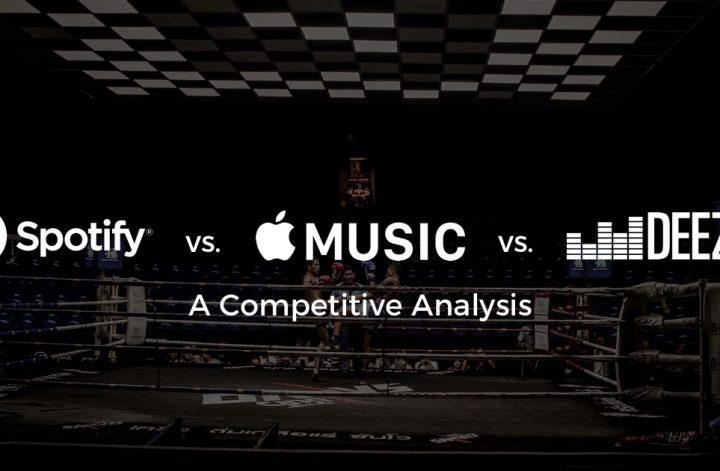 Spotify Apple Music Deezer