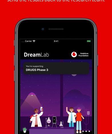 DreamLab แอพพลิเคชั่น