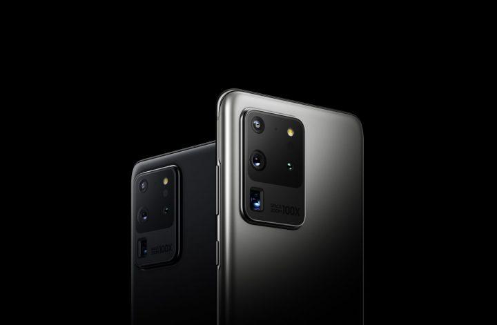 โทรศัพท์รุ่นกลางของ Samsung