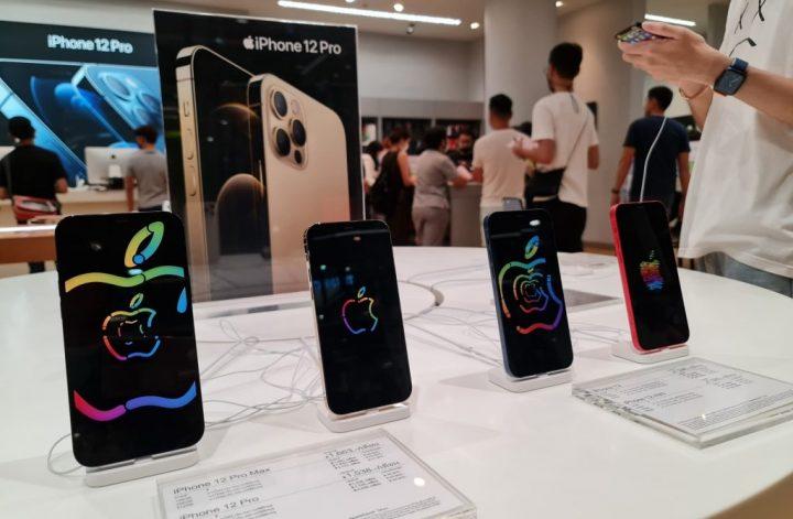 ไอโฟนยอดขายแซงซัมซุง