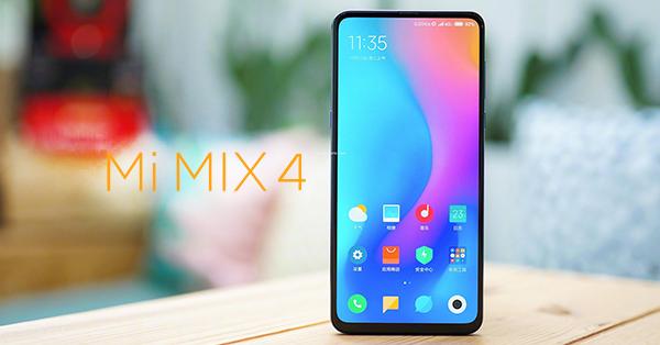 Xiaomi รุ่น Mi Mix 4