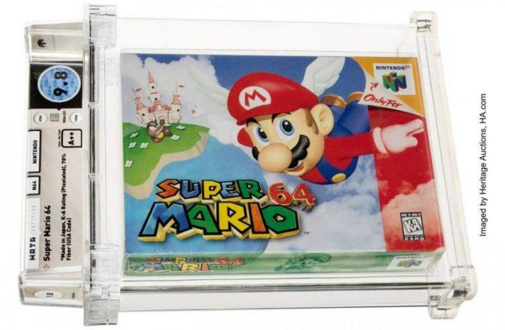 Super Mario 64-ซอฟแวร์เกม